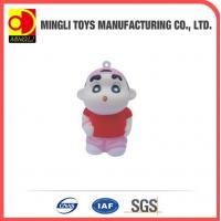 Best PU Stress Toys Factory custom Mini keychain boy Cartoon action figures for baby toy wholesale