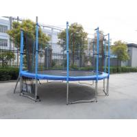 Best 12FT Family Gardon Amuement Round Spring Trampoline With Net Inside (6 Leg - 12 Pole) wholesale