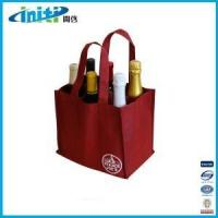 Best High Quality Nonwoven Wine Bag/non woven red wine bag wholesale