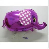 Best Walking pet elephant shaped mylar helium aluminium foil balloon wholesale