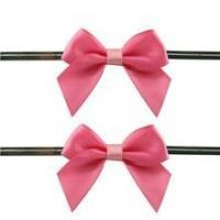 Best 2015 gift decoration satin ribbons bow wholesale