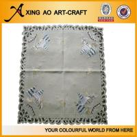 Buy cheap 100%polyester embroidered christmas table cloth from wholesalers