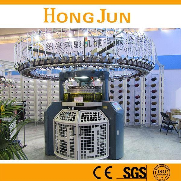 Cheap Double Jersey Computerized Jacquard Knitting Machine for sale