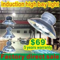 120w 150w 200w 250w low frequency induction high bay light induction lamp