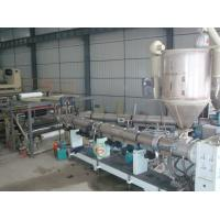 China Double screw extruders ACP line on sale