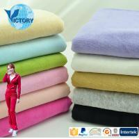 Best Victory Textile 80% Cotton 20% Polyester Knitted CVC Fabric Velvet wholesale