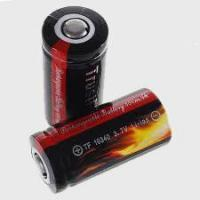 Best 2pcs TrustFire 16340 Lithium Rechargeable Batteries with Cover[Item # CR123-16340] wholesale