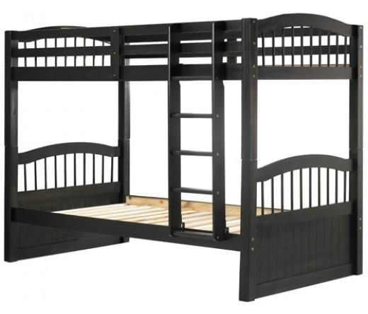 Cheap Triplet Bunk Bed In Java Of Theunfinishedfurniture
