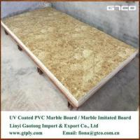 Best UV coated PVC marble texture sheet for wall panel wholesale