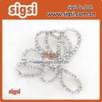 Best Wholesale Crystal Glass Rhinestone Wedding Bridal Dress Buckle wholesale