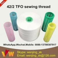 Best 42s/2 semi-dull sewing thread manufacturer in indonesia for jeans wholesale