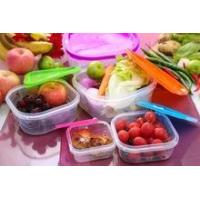 BPA-Free useful plastic food container set with lid