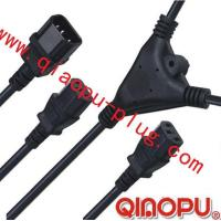 Best one to Two connectors,power cord,power cord three-way connector wholesale
