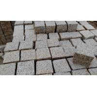 Quality G350 cube paving,Yellow granite cube wholesale