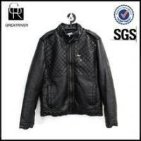 Best Men Causal Faux Leather Jacket wholesale