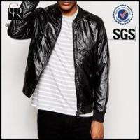 Best Men Black Bomber Jacket wholesale
