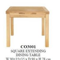 square extending table best square extending table