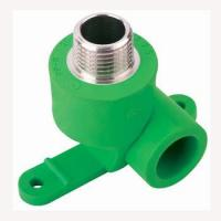 PPR Fitting Male tee w/disk Female elbow w/disk