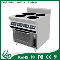 China Induction range high quality discount commercial 380v electric stove oven on sale