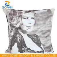 China 2016 New Vintage style classic goddess faux suede neck pillow on sale