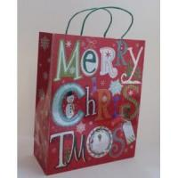 Best Paper Bags Merry Christmas Gift Paper Tote Bag wholesale