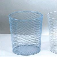 Trash Can-Middle-Mesh Bottom (Blue or White)(LD01-508-4)