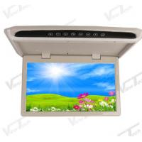 Best Manually Flip Down Monitor 15.6 inch Slim Coach Roof Monitor wholesale