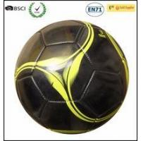 Best size 3 classical black soccer ball football,PVC ball wholesale