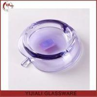 Best colored cheap apple shaped glass ashtray wholesale
