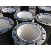 China Ductile cast iron flange pipe on sale