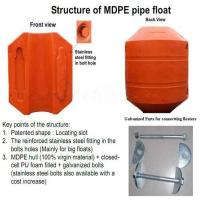 Best Closed-cell PU foam fillled buoy dredge pipe floaters & dredging float wholesale
