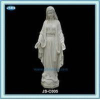 Best cheap white marble statue of mother mary wholesale