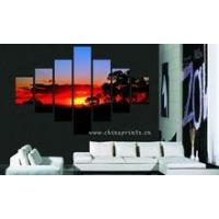 Best Sunset Scenery Design Painting/Home Decor Wall Hanging/Beautiful Scenery Wall Painting wholesale