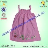 Best new arrival cheap sleeveless wholesale baby dress modern wholesale