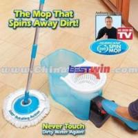 Best AS SEEN ON TV Magic Spin Mop/Twin Spin Mop As Seen On TV wholesale
