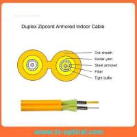 Duplex armored Indoor cable