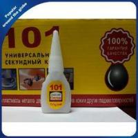 Buy cheap Cyanoacrylate Instant Super Glue 101 Wood Glue For Russian Market from wholesalers
