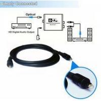 5.0 mm Diameter Audio Speaker Optical Fiber Cable Soundbar For Media Player