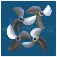 3 blades dia 70 72 75 78 Aluminum CNC Racing Propellers for RC Boats
