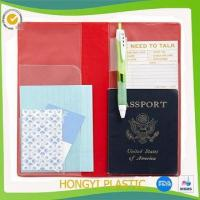 Best Book cover plastic travel organizer wholesale