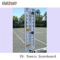 China Court Equipment Tennis Score keeper Professional Tennis scoreboard on sale