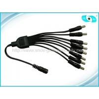 Best CCTV Accessories DC CCTV Power Connector with 8 Channel , 8 Way Cable Splitter wholesale