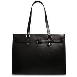 China Laptop Bags Ladies Leather Laptop Tote