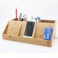 Best Bamboo Wood Kitchen Bamboo stationery pen holder wholesale