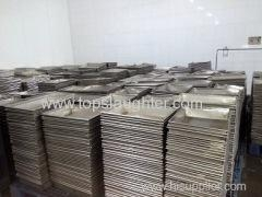 Cheap Poultry processing plants equipment stainless steel meat plate Manufacturer & Supplier for sale
