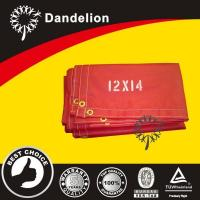 Buy cheap Red Poly Tarps from wholesalers