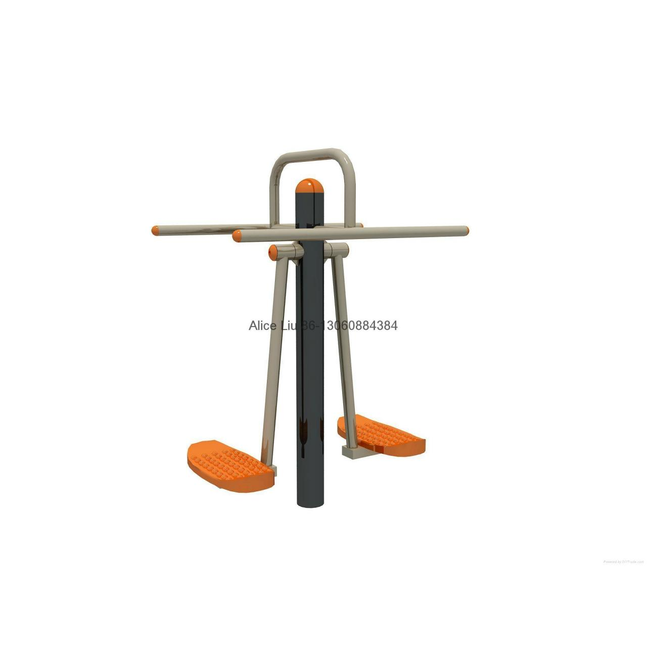 Best Double wave plate park steel outdoor fitness equipment wholesale