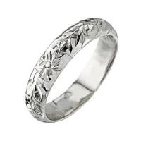 Best 14K White Gold Plumeria Maile Ring(Barrel 1.5mm) wholesale