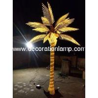 Best summer Holiday Name and 110V, 220V Voltage LED Palm Tree Light wholesale