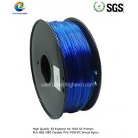 Best PC filament Transparent Blue color 1.75/3.0mm wholesale